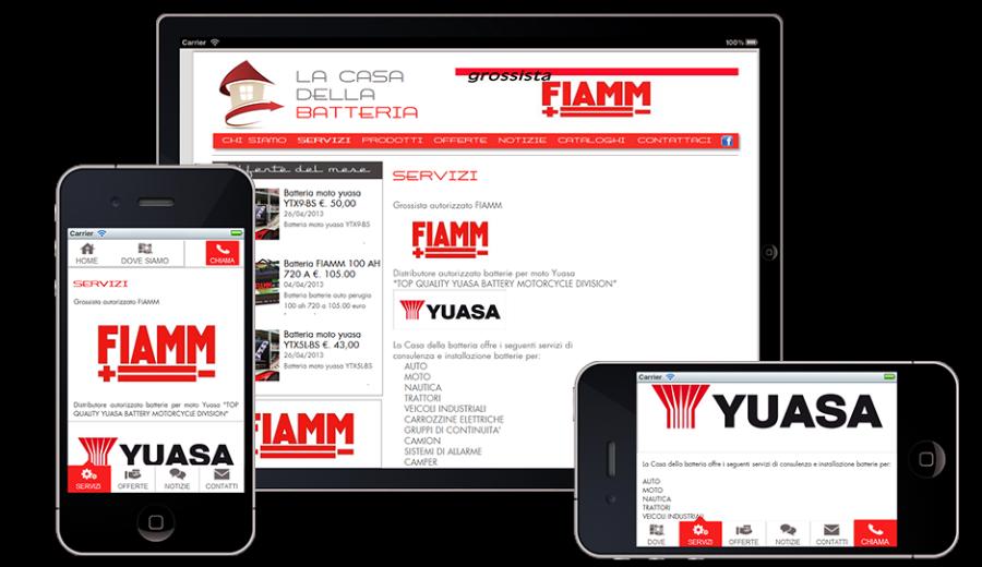 Realizzazione impaginazione sito web mobile for Sito web di progettazione della casa