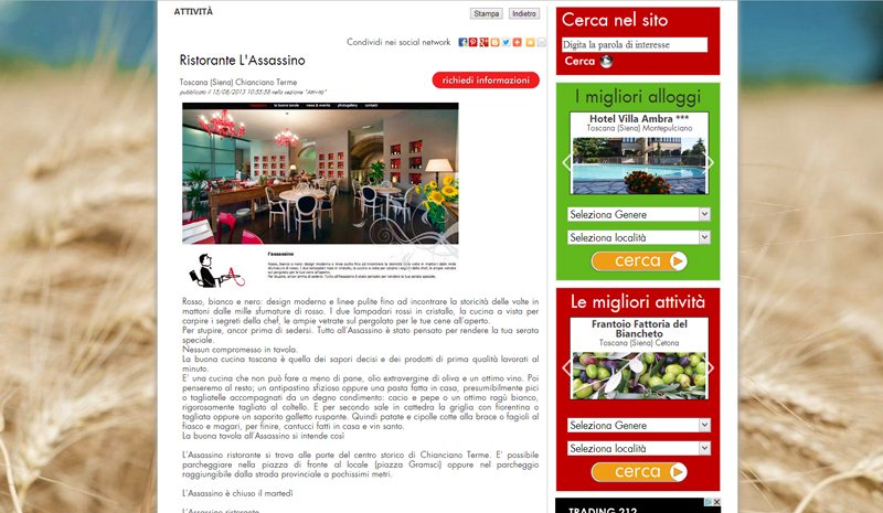 Giornale Online In-Toscana
