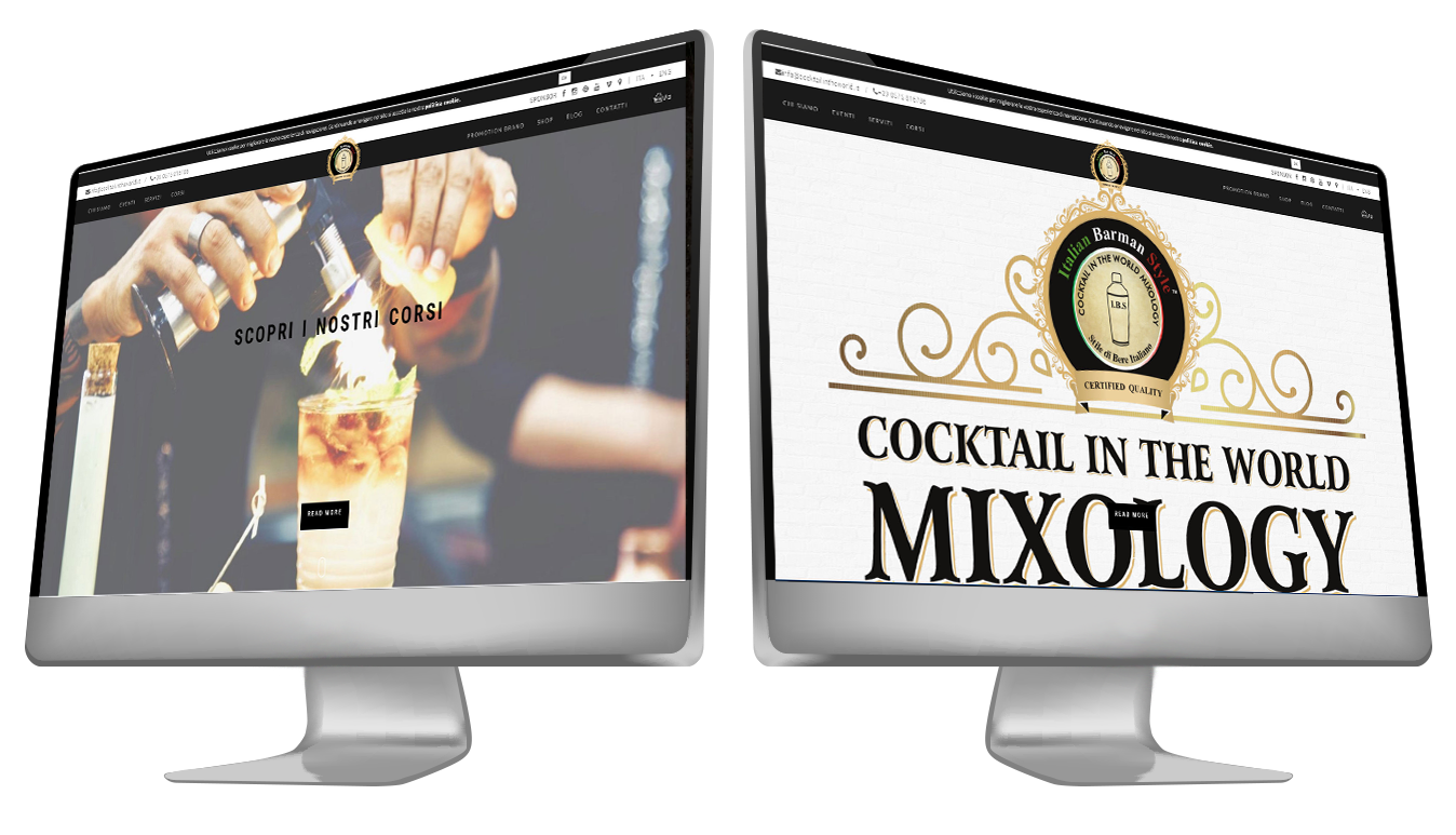 Sito Web Responsive Dinamico Cocktailintheword